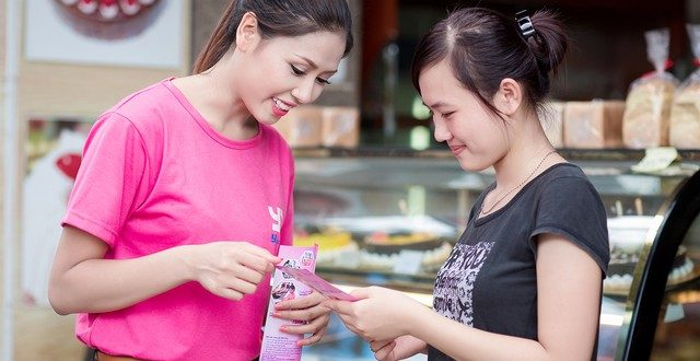 Dịch vụ phát tờ rơi tại quận Tân Bình